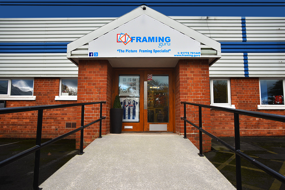 picture framing services in preston - framing guru