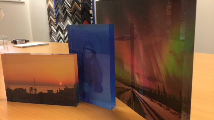 Photos on Acrylic Blocks