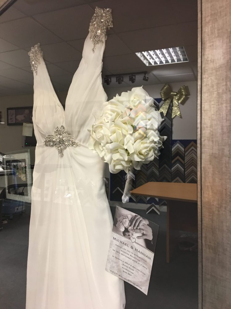 Wedding Dress Frame - Framing Guru - Picture Framing Services in Preston