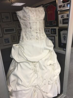 Wedding Dress Framing Preston