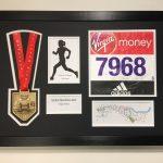 London Marathon 2018/17 Display Frame