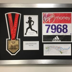Medal Framing London Marathon 2017 Display Frame Medal