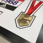 London Marathon 2018/17 Display Frame