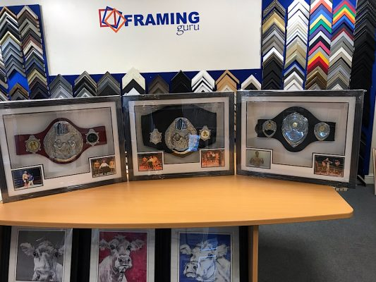Framed Kick Boxing Belt