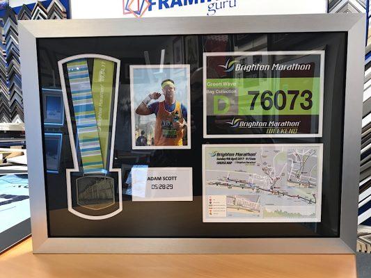 Brighton Marathon Medal Frame