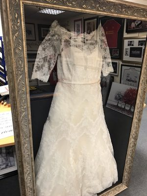 Wedding Dress Framing